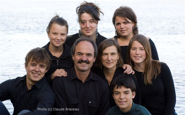 Chicoine unschooling family
