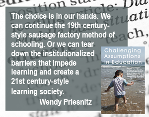 choice to create learning society by Wendy Priesnitz