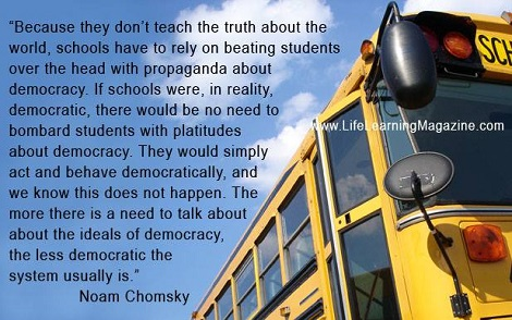 schools and democracy by Noam Chomsky