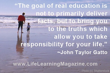 Goal of education by John Taylor Gatto