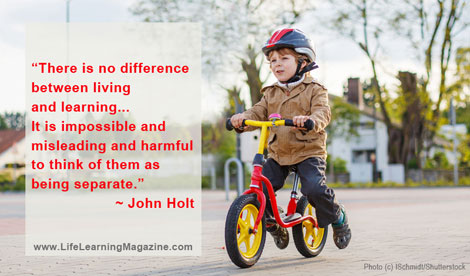 Learning from John Holt, by Wendy Priesnitz, editor of Life Learning Magazine