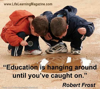 what is education by Robert Frost
