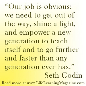 education quote by Seth Godin