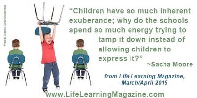 children have so much exuberance