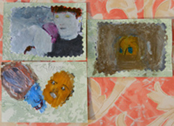ATCs with photocopies