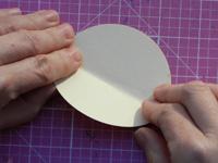 ornament - fold circle