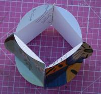 ornament - glue sides together