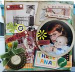 collage using slide frames