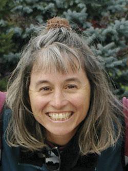 Tina Therrien, straw bale builder