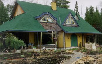 Warburton strawbale house
