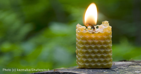 The Romance of Beeswax Candles