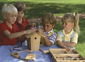 children cooperating