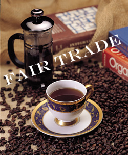 fair trade is shopping with a conscience