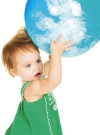 green toddler