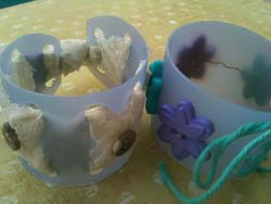 recycled plastic cuff