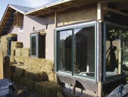 straw bale retrofit windows